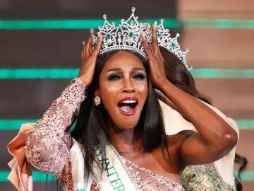 La ganadora del certamen de belleza Miss International Queen 2019, la estadounidense Jazell Barbie Royale