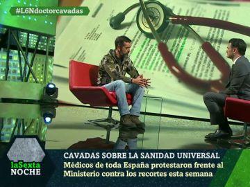 Pedro Cavadas, en laSexta Noche