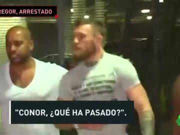 Detienen a Conor McGregor en Miami por destrozar y robar el móvil de un fan
