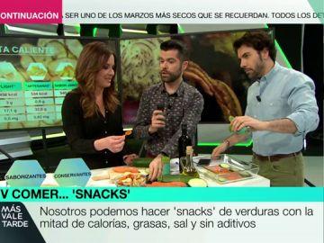 ¿Existe el 'snack' saludable? Te explicamos cómo cocinar tu propia versión