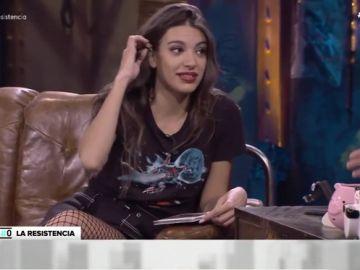 """Ana Guerra pone en apuros a Broncano en pleno directo: """"Podrías haber venido a saludar, como hace Pablo Motos"""""""