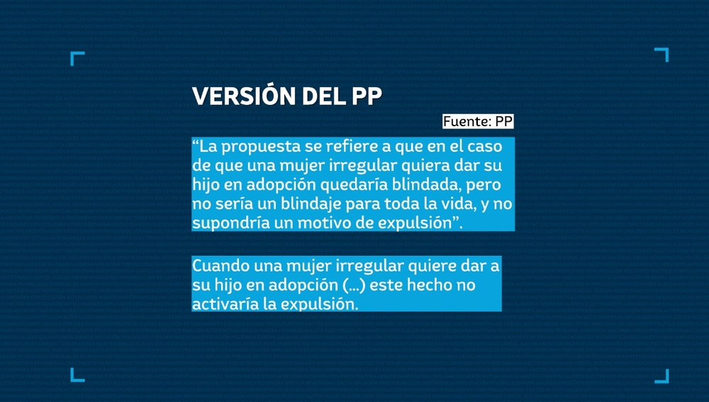 Mail del PP remitido a Newtral