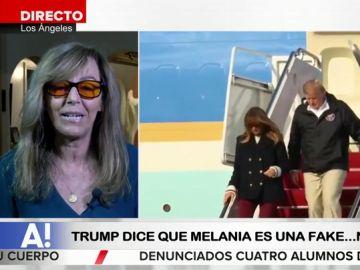 """Salen a la luz nuevas teorías sobre la doble de Melania: """"Dicen que es una mujer nueva en el equipo de seguridad"""""""