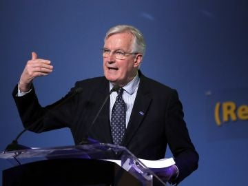El jefe negociador europeo para el Brexit, Michel Barnier