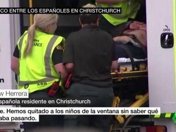 Pánico entre los españoles en Christchurch