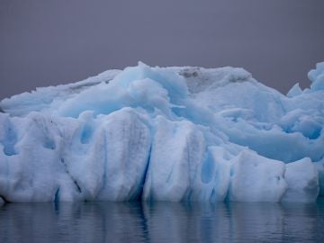 Glaciar en la Antártida.