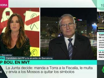 """Josep Bou: """"No podemos ir a las elecciones con las paredes, puertas y ventanas llenas de frases sectarias"""""""