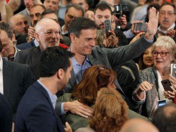 Pedro Sánchez en un acto del PSOE en Alicante