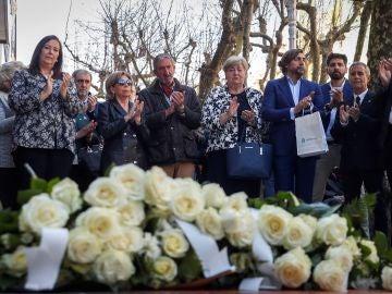Homenaje en San Sebastián a las víctimas de ETA.