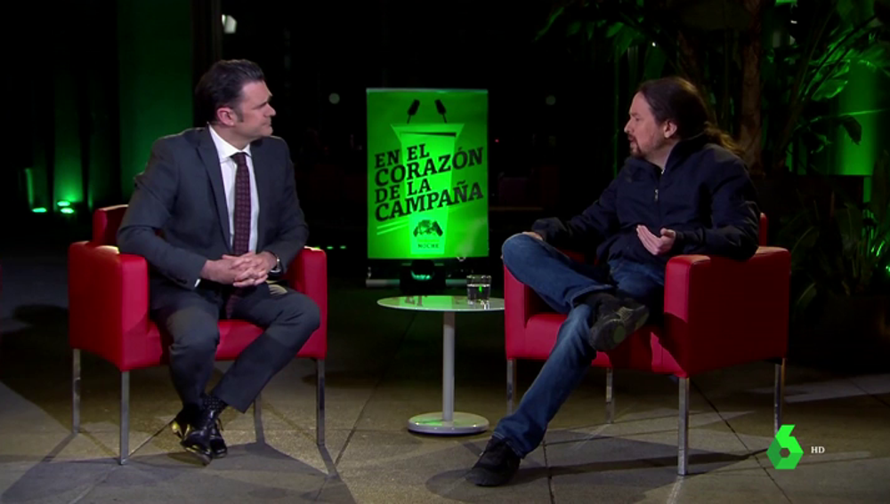 """Pablo Iglesias reparte críticas y autocrítica en laSexta Noche: """"Hay que reconocer que hemos dado vergüenza"""""""