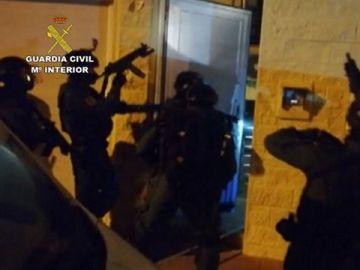 Operativo especial de la Guardia Civil