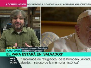 """La explicación del papa Francisco a Évole sobre los abusos sexuales en la Iglesia: """"La sociedad quiere correr más de lo que la institución puede"""""""