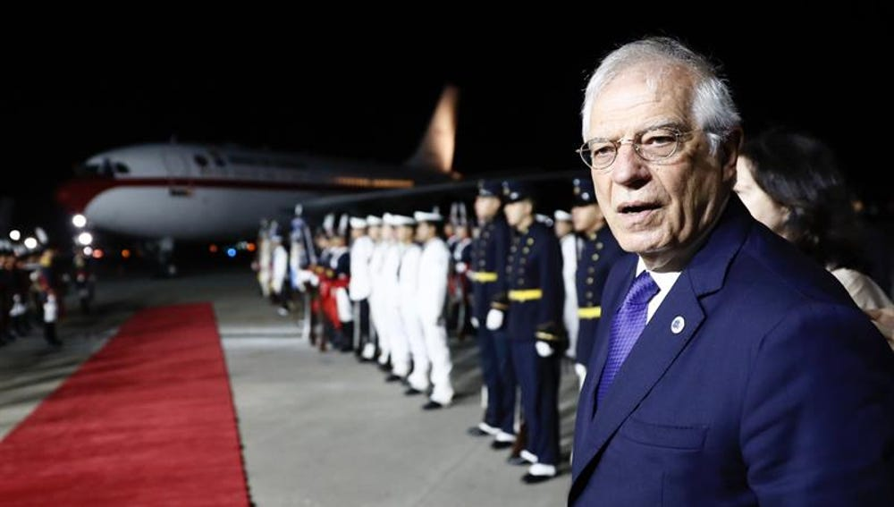 El ministro de Asuntos Exteriores español, José Borrell