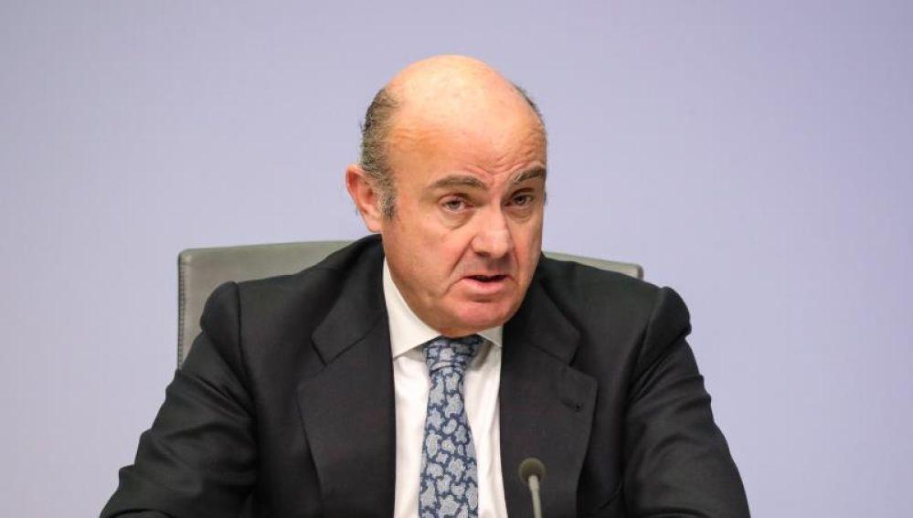 El exministro de Economía, Luis de Guindos