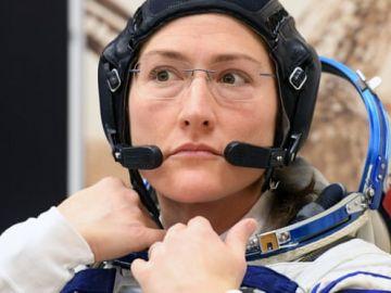 La astronauta Christina Koch