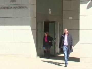Pablo Iglesias se persona en la Audiencia Nacional como perjudicado por el caso Villarejo