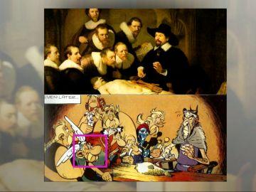 Astérix y los clásicos: la inspiración de Uderzo para sus viñetas