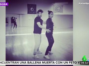 Así es el espectacular baile de Lara Álvarez con el que demuestra la gran química que tiene con su novio, Daniel Miralles
