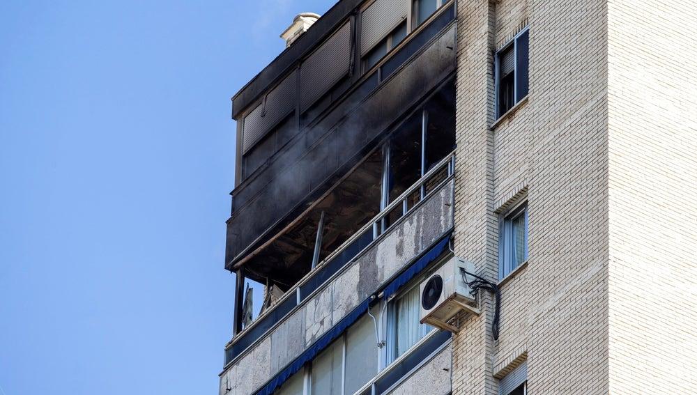Vivienda situada en el piso 16 de un edificio de Madrid