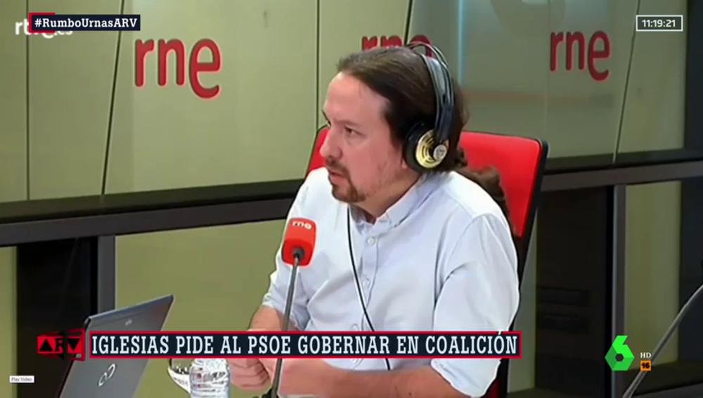 """Iglesias pide al PSOE gobernar en coalición y Ábalos señala que sólo quieren """"colaboración"""" con Podemos"""