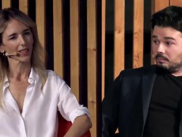 Cayetana Álvarez de Toledo y Gabriel Rufián