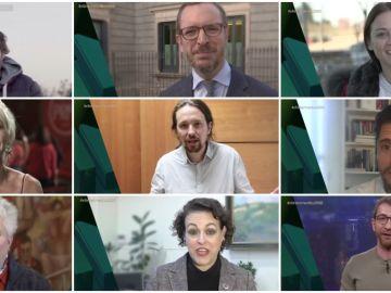 Los famosos mandan un mensaje de felicitación a El Intermedio.