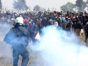 Tensión en la frontera de Grecia y Macedonia