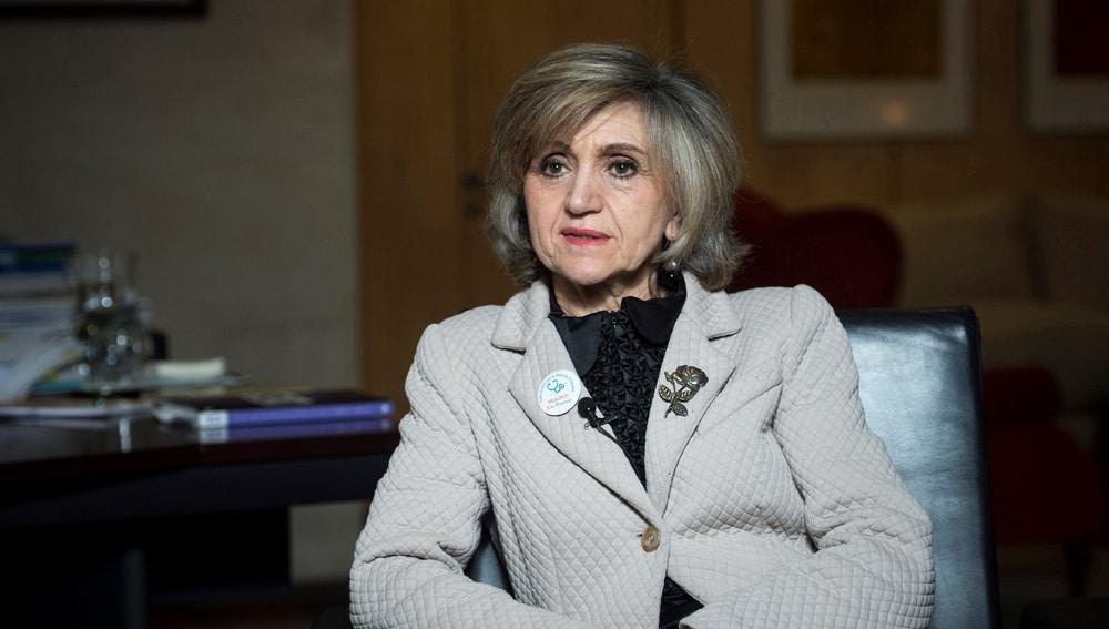 La ministra de Sanidad, Consumo y Bienestar Social, María Luisa Carcedo.