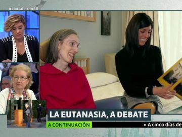 "La estremecedora defensa de la eutanasia de Larraitz Chamorro, enferma de ELA: ""Estoy cansada de sufrir"""