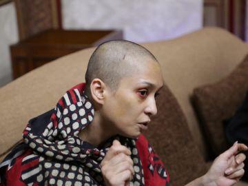 Asma Aziz, la mujer que denuncia haber sido maltratada por negarse a bailar para su marido.