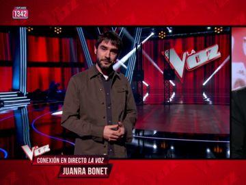 """Juanra Bonet desvela los detalles de la final de 'La Voz': """"Ni siquiera parte del equipo sabe lo que va a pasar, el secretismo está a ese nivel"""""""