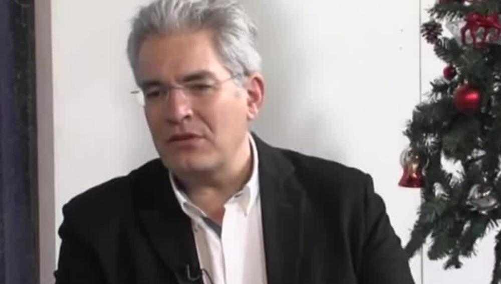 El miembro de Vox José María Ruiz Puerta