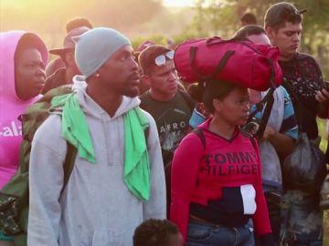 Dos mil migrantes llegan a Chiapas para unirse a los 50.000 que dicen las ONG que ya están allí