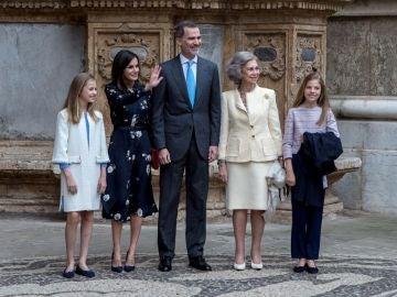 Posado de la Familia Real en Palma