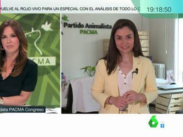 """Laura Duarte (Pacma): """"Nuestra campaña está centrada en dejar claro que Vox es una amenaza"""""""