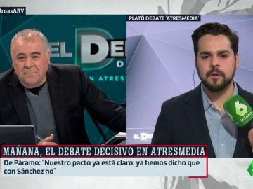 """Fernando de Páramo: """"Los ciudadanos tienen que decidir entre Rivera y Casado, entre si quieren apostar por el futuro o el pasado"""""""