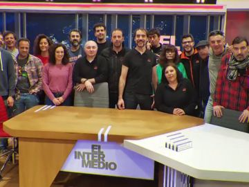 Este es el equipo que hace posible que salgan adelante los programas de El Intermedio