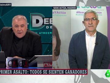 Antonio García Ferreras y Gaspar Llamazares