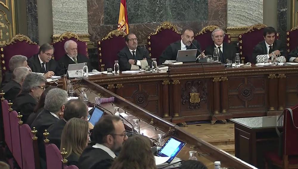 La reprimenda del juez Marchena a un mosso