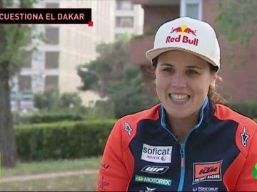 """Laia Sanz habla sobre el Dakar en Arabia Saudí: """"Es algo que choca, las mujeres lo deben tener muy complicado"""""""