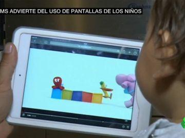 La OMS advierte: los menores de cuatro años no deberían estar frente a una pantalla durante más de una hora
