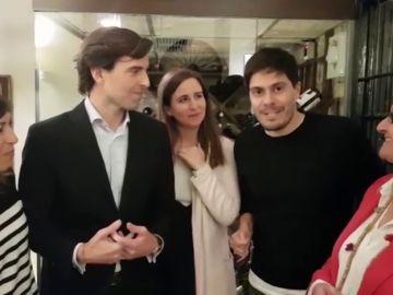 "Charla con antiguos compañeros de Pablo Montesinos: ""Este año nos vamos a Galicia a buscar a Mariano Rajoy"""