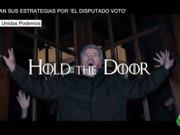 Hasta Juego de Tronos entra en campaña por el disputado voto: esta vez, para cerrar puertas giratorias