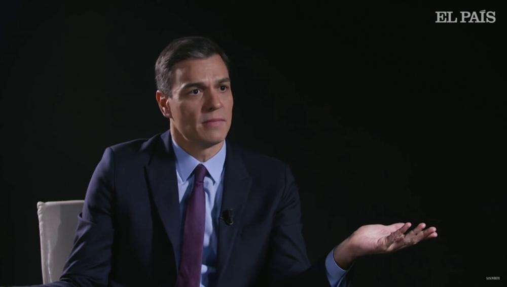 El líder y candidato del PSOE, Pedro Sánchez