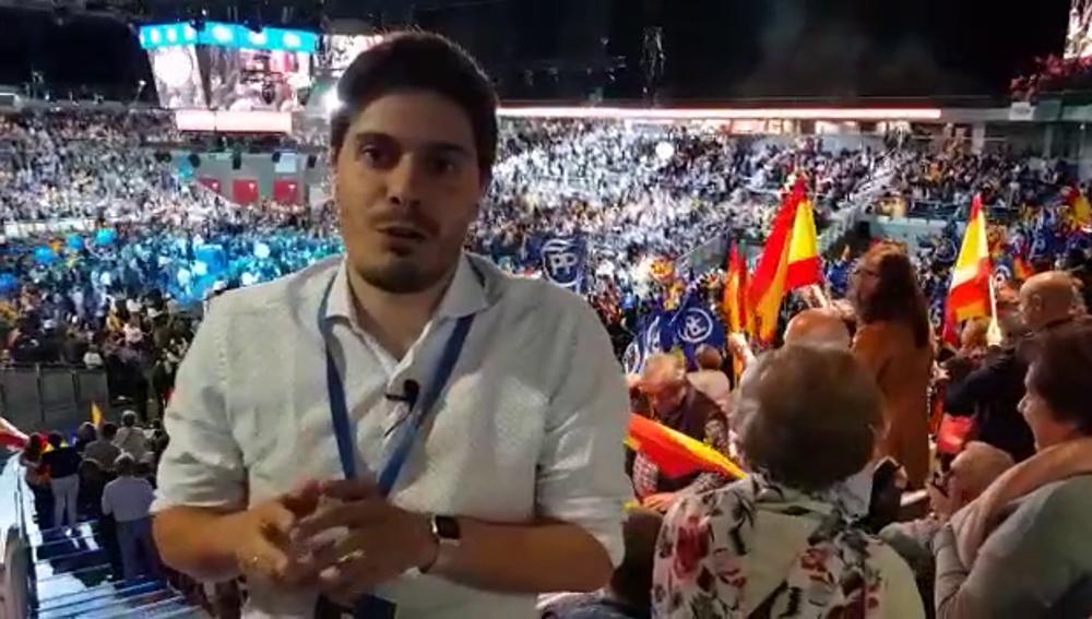 Acto del PP en el Palacio de los Deportes
