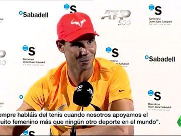 """Una tenista argentina, muy crítica con Nadal por la igualdad en los premios: """"A veces estaría bueno que ni opinara del tema..."""""""
