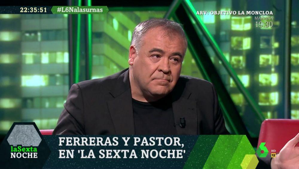 Antonio García Ferreras, en laSexta Noche