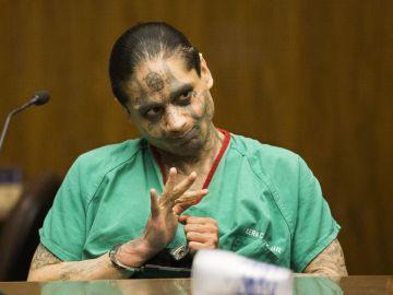Jaime Osuna, acusado de decapitar a su compañero de celda.