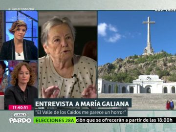Imagen de la actriz María Galiana en Liarla Pardo