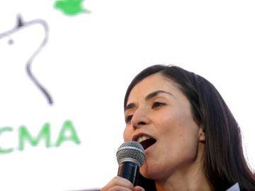 La candidata al Congreso de los Diputados por PACMA, Laura Duarte